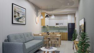 Sofa mang đến phòng khách hiện đại