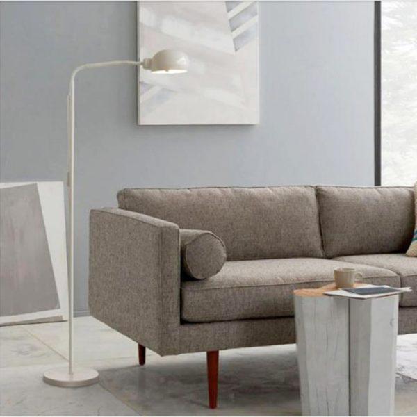 Ghế sofa kết hợp với đèn