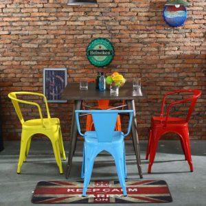 Ghế sắt Tolix - Sản phẩm nghệ thuật tinh tế, hợp xu hướng